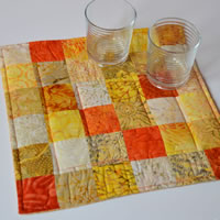 Yellow and Orange table topper